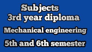 Diploma In Mechanical Engineering Books Pdf In Tamil