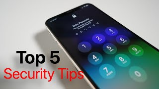 Top 5 iPhone Security Tips