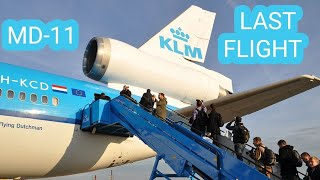 ᴴᴰ ✈ LAST KLM MD-11 Farewell Flight - 11/11/14