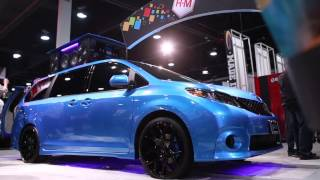 West Coast Customs Unveils Mobile DJ Booth At SEMA 2014 for BASF
