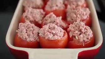 Täytetyt tomaatit | Aitoa arkiruokaa