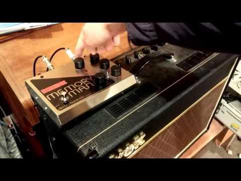 Modified Electro-Harmonix Deluxe Memory Man