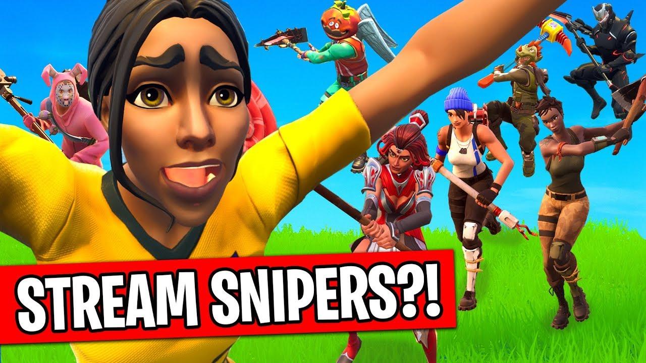 the sniper stream