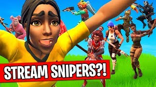 How to deal with Stream Snipers in Fortnite
