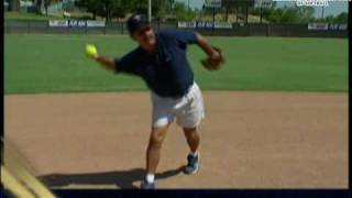 Softball Instruction Infield Fundamentals Part 8 - Fielding Slow Rollers