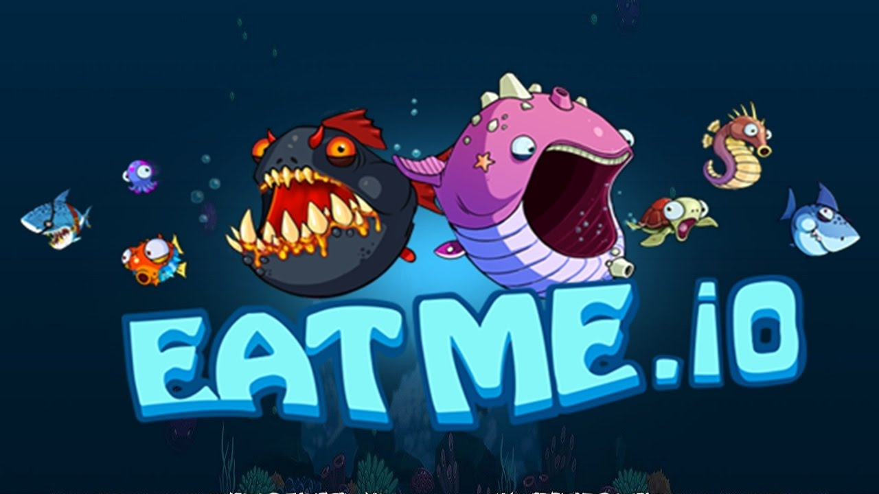 Hungry fish attack fun multiplayer game for Fish io games