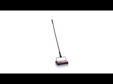 Stanley Home Electrostatic Cordless Carpet Sweeper Youtube