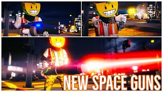 GTA Online Arena War DLC Update & NEW SPACE Alien WEAPONS Showcase!