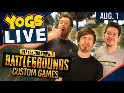 PUBG CUSTOM GAMES - 1st August 2017