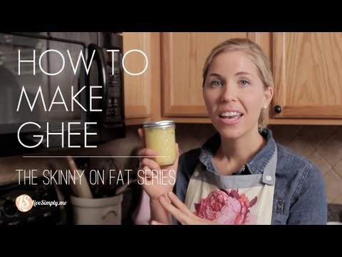 how to make ghee from malai video