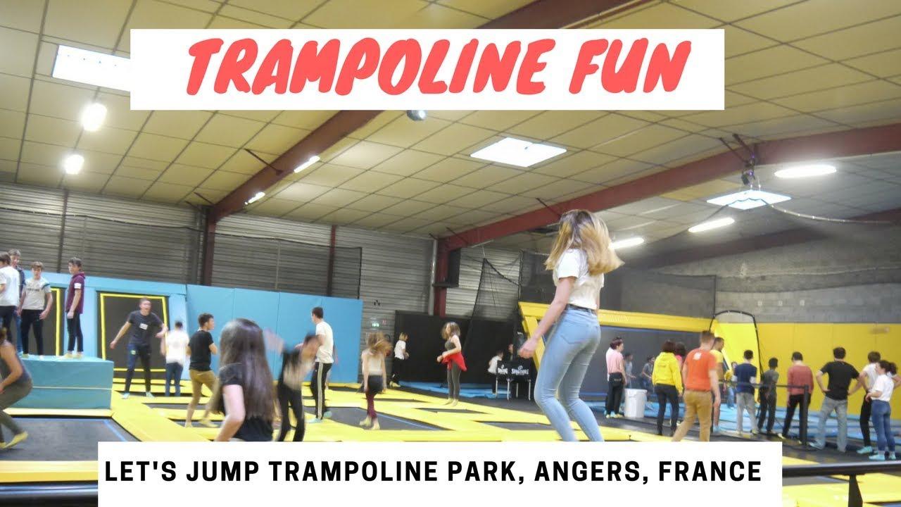 trampoline park fun youtube. Black Bedroom Furniture Sets. Home Design Ideas