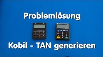 Problemlösung - Kobil Tan generieren