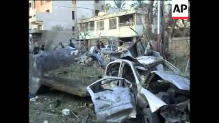 Aftermath of bomb attacks on hotels that killed at least 37, funerals