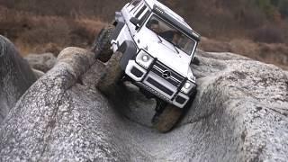 1/10 TRX-6 Mercedes Benz G63 AMG 6x6 White Off Road | #3