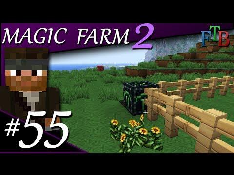 Ender Powered Ender Quarry | Magic Farm 2 | Ep.55