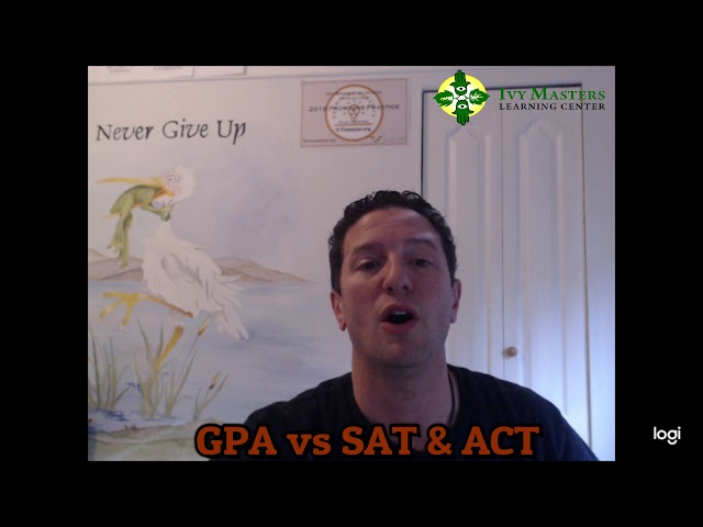 Ivy Masters Learning Center | GPA vs SAT/ACT | Know the Difference