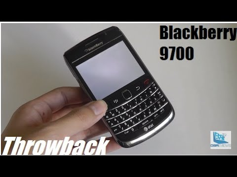 Throwback: Blackberry Bold 9700 - Classic Smartphone