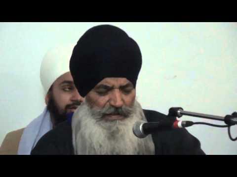 Bhai Sahib Bhai Amolak Singh Ji at Bhai Ranbir Singh Ji's Residence Calgary Jan 2016