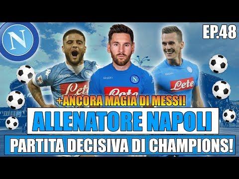 PARTITA DECISIVA PER LA CHAMPIONS!!   FIFA 17: CARRIERA ALLENATORE NAPOLI #48 [By Giuse360]