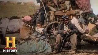 Blood and Glory: The Civil War in Color: African Americans After the War | History