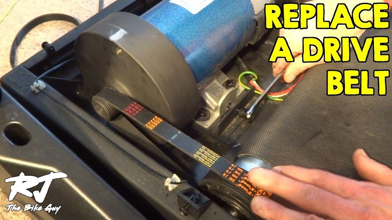 How To Replace Drive Belt On Sole Treadmill Youtube Australian 610 Socket Wiring Diagram