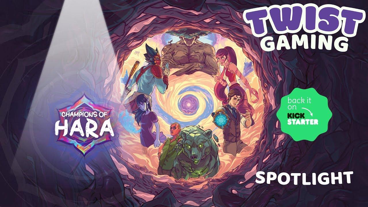 Champions of Hara by Greenbrier Games INC — Kickstarter