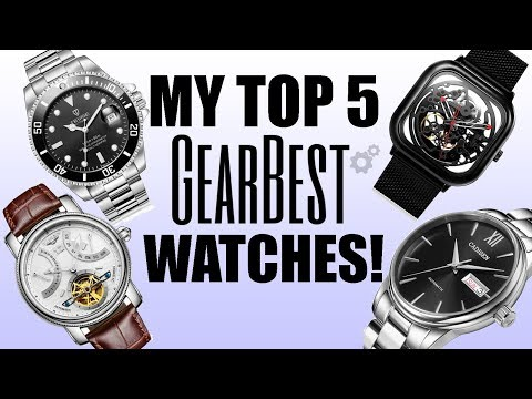 Top 5 Favourite GearBest Watch Brands & Models - Perth WAtch #223