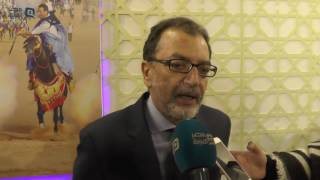 بالفيديو| وزير الثقافة المغربي: نعتز بتكريمنا في معرض القاهرة للكتاب