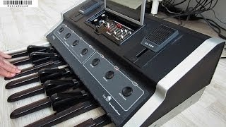 "Moog Taurus bass pedal synthesizer - sound design tutorial Rush ""Tom Sawyer"""