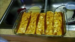Kicked Up Pork Enchiladas (recipe) (homemade Enchilada Sauce)