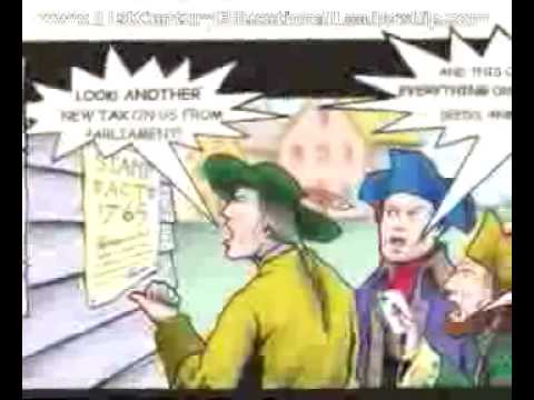 Events Leading to the American Revolutionary War - YouTube