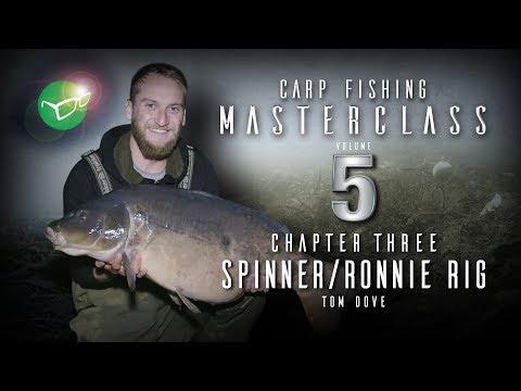 Korda Carp Fishing Masterclass 5: Ronnie Rig/Spinner Rig   Tom Dove   Free DVD 2018