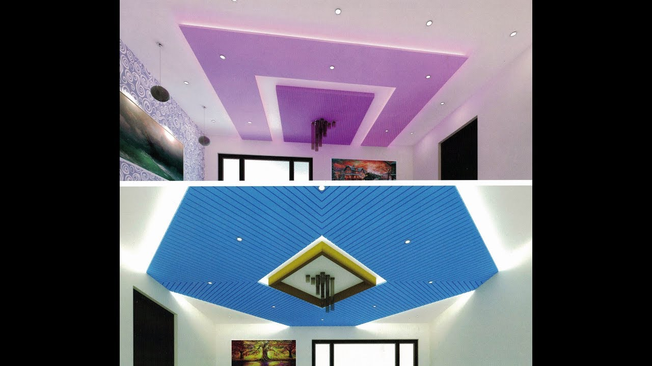 Ceiling Design for Bedroom | False Ceiling | Paint Ideas ...