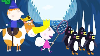 Ben and Holly's Little Kingdom | Penguin Hunting | Kids Videos