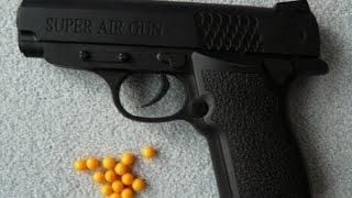 Как улучшить игрушечный пистолет / How to improve a toy gun