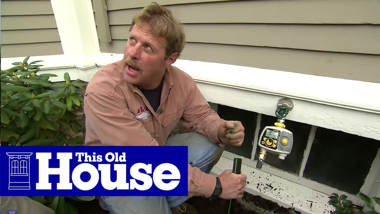 How To Install In Ground Sprinklers   This Old House   YouTube