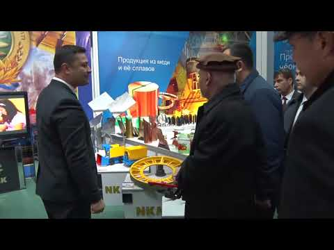 Pres. Ghani's historical visit to Uzbekistan, visiting tractor factory