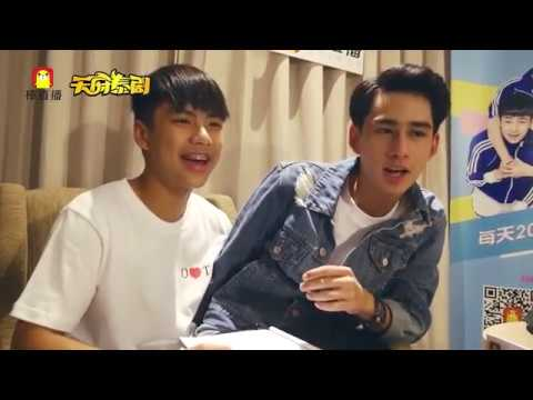 [Eng/HD]Ohm Toey Live Chat @China 20161129 Make it Right Thai Series 爱来了别错过 棒直播