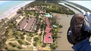 Vueltecita por Tuxpan Veracruz Trike Ultralight 20/04/12