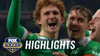 Josh Sargent scores 2 minutes into his Bundesliga debut | 2018-19 Bundesliga Highlights