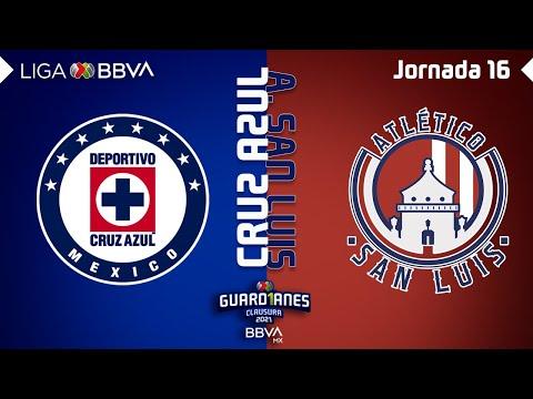 Cruz Azul San Luis Goals And Highlights