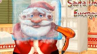 NEW Игры для детей—Дед Мороз замерз—мультик онлайн для девочек