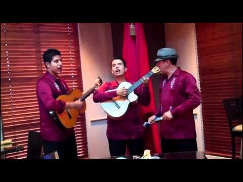 """Mexican Trio Music in Albuquerque, New Mexico """"Sabor A Mi"""""""