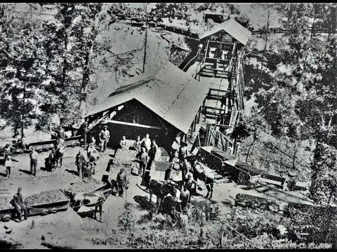 Brookside, Alabama Coke Ovens And Coal Mines Remains