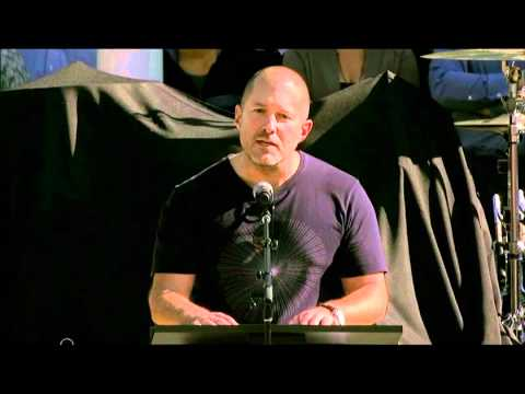 Jonathan Ive - Tribute to Steve Jobs