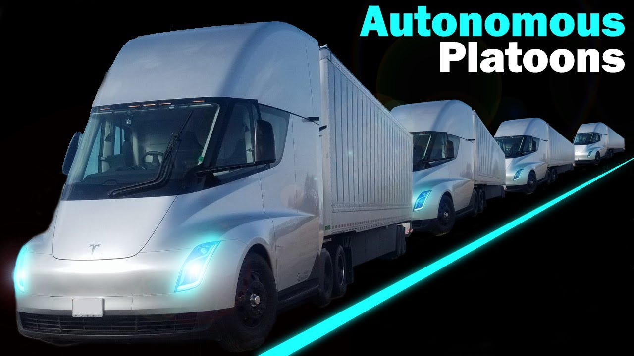 What Happened to Tesla Semi's Autonomous Platoons?