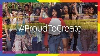 #ProudToCreate: Pride 2018