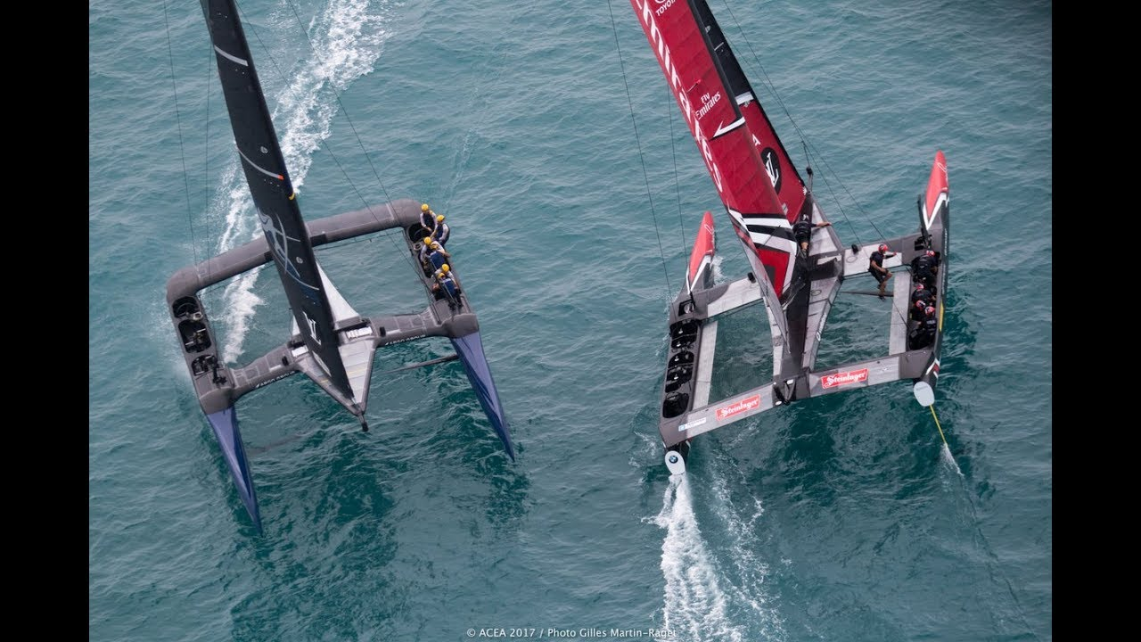 ? ? All action from 35th America´s cup Bermuda 2017