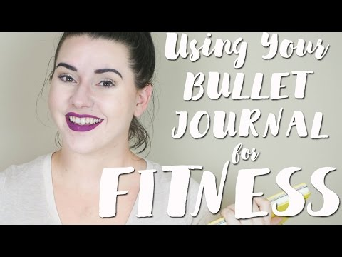 How to Use a Bullet Journal for Fitness | Fitness and Weight Loss Spreads | Bullet Journal