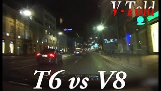 Volvo S80 V8 meets a CRAZY S80 T6, talented cyclists, OLD drivers